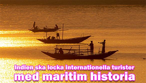 Nytt internationellt turistmål tillägnat det marina arvet i Indien