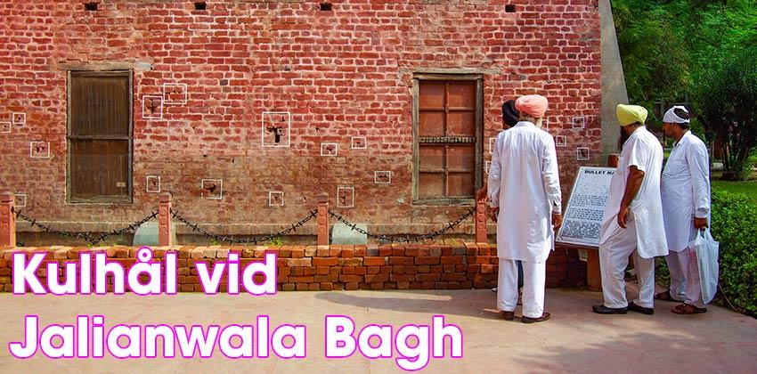 Kulhål i väggen vid  Jalianwala Bagh