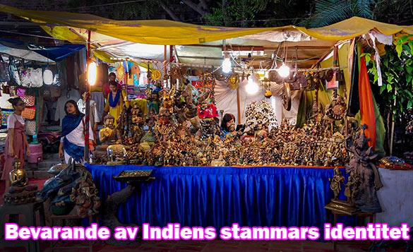 Indiens vicepresident efterlyser utvecklingsmodell för bevarande av stammars sär