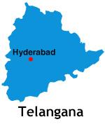 Hyderabad i Telangana
