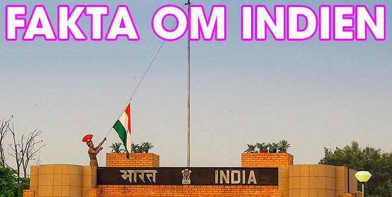 Fakta om Indien