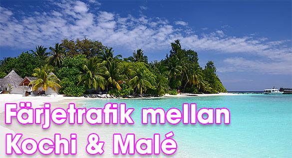 färjetrafik mellan Kochi och Malé - Indien till Maldiverna
