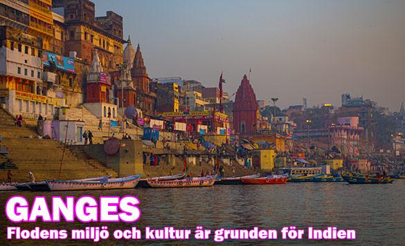Bevarande och marknadsföring av Ganges, dess miljö och kultur är grunden för vår