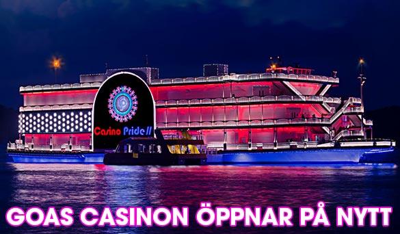 Goas casinon får öppna igen