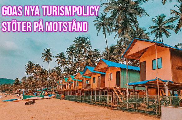 Grupp inom turistnäringen i Goa, Indien, vill stoppa nya turismpolicyn