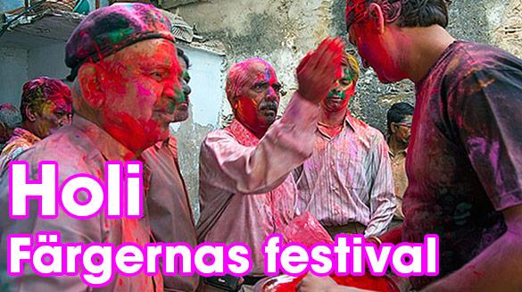 Holi - färgfestivalen