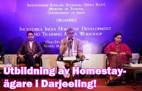 Utbildning till över 700 homestay-ägare runt Darjeeling, Indien