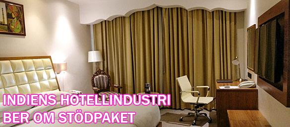 Indiens hotellindustri ber om stödpaket