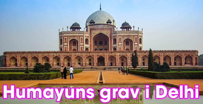 Humayuns grav i Delhi