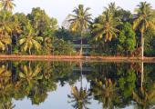 Hus i Backwaters