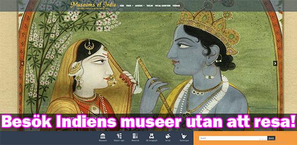 Virtuell resa under pandemin: Besök indiens museer utan att resa dig ur stolen!
