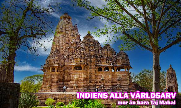 Lista: Alla världsarv i Indien