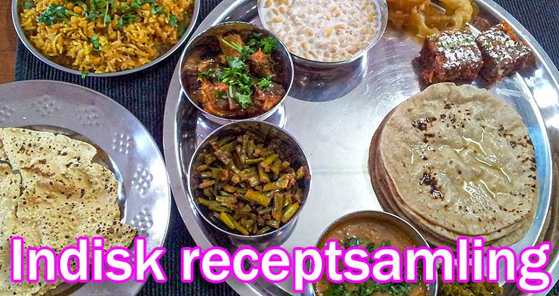 Indisk receptsamling