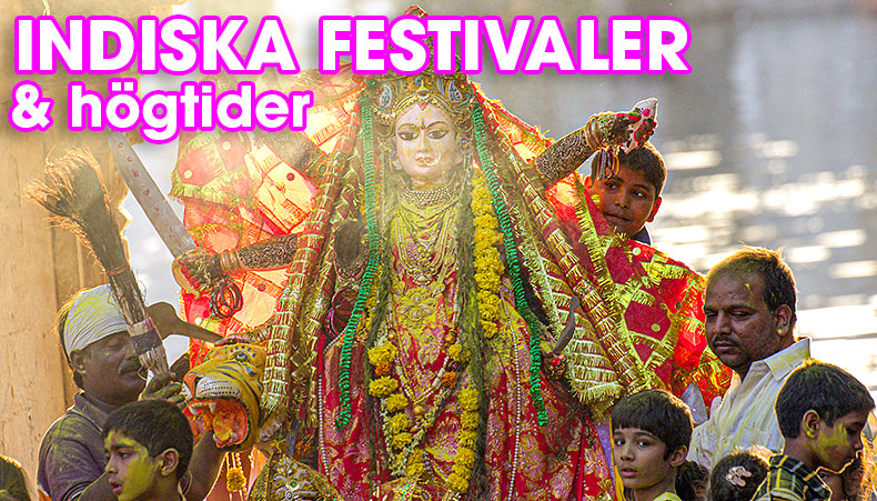Indiska högtider & festivaler