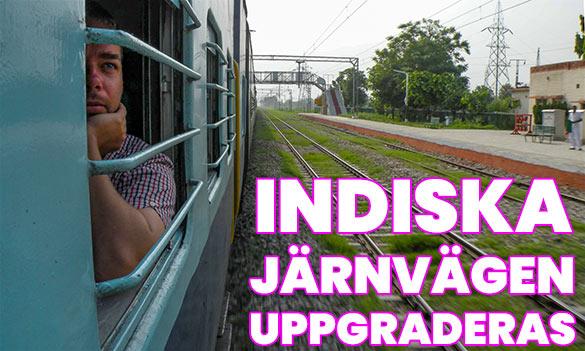 Säkrare och bekvämare tågresor i Indien