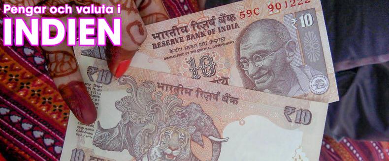 Pengar i Indien