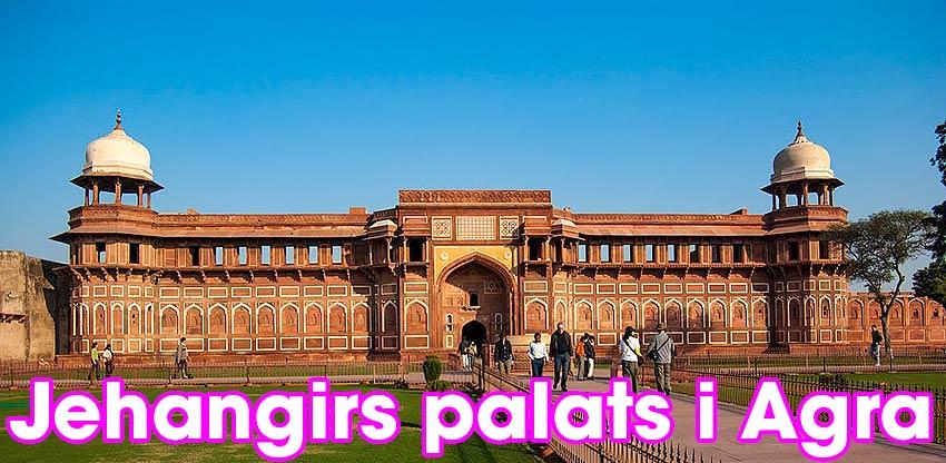 Jehangirs palats i Agra Fort