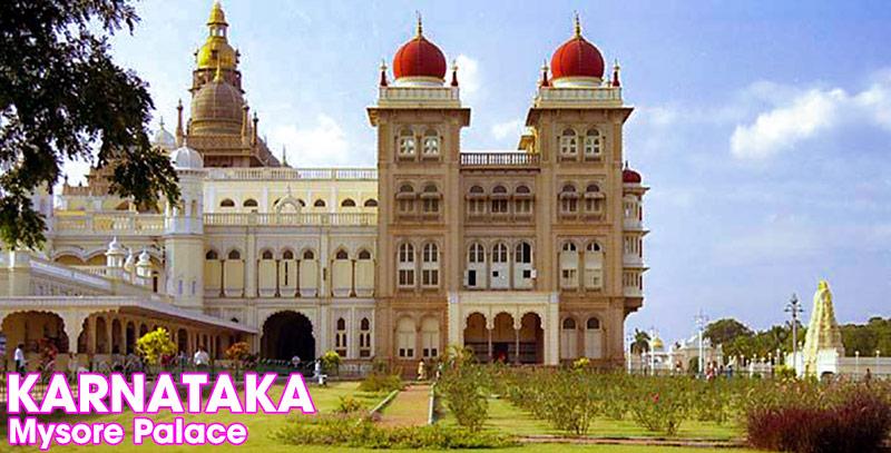 Palatset i Mysore, Karnataka