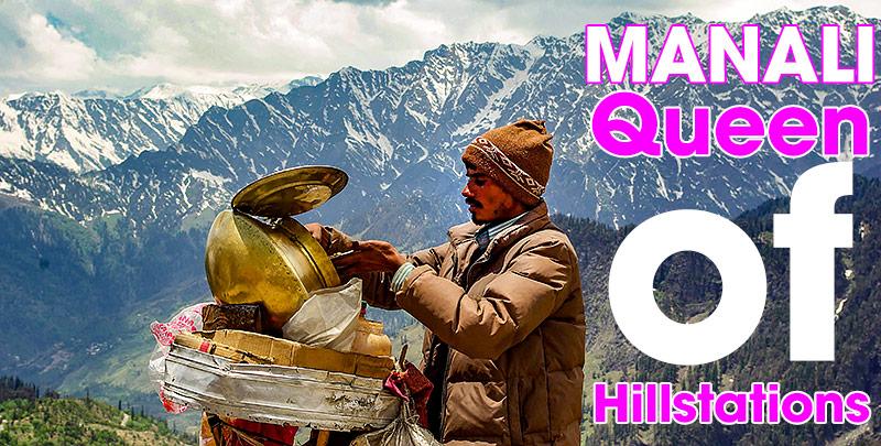Manali i Indiska Himalaya