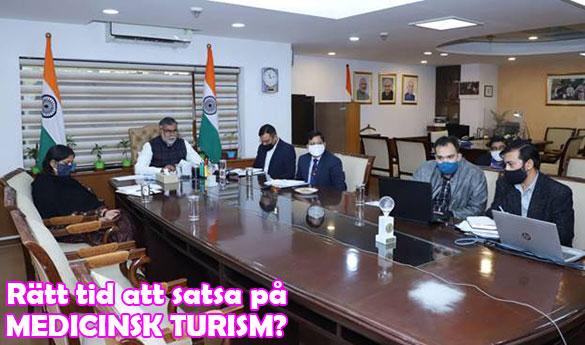 Indien vill främja medicinsk turism