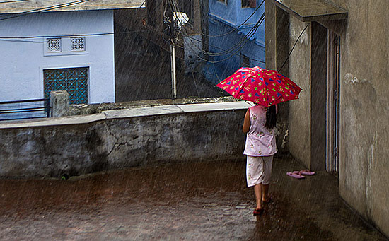 Indiens Monsun