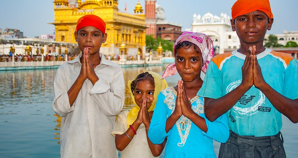 Namaste Golden Temple