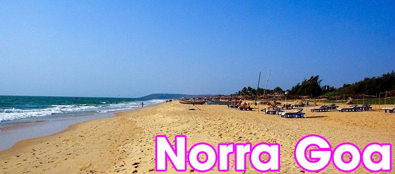 Norra Goa, Indien, Strand och bad