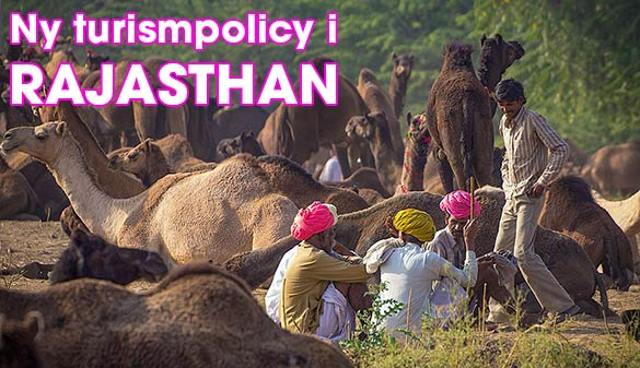 Ny turistpolicy i Rajasthan, Indien