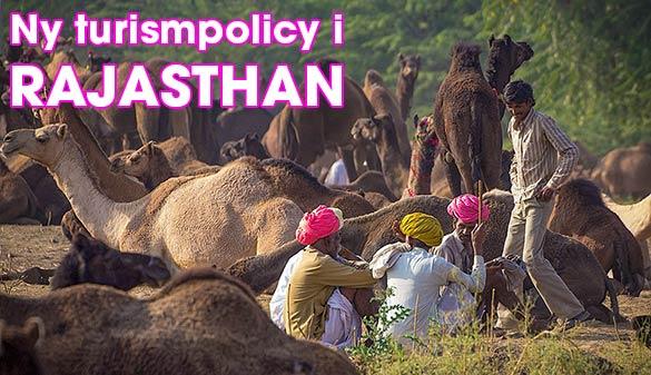 Ny turistpolicy i Rajasthan, Indien