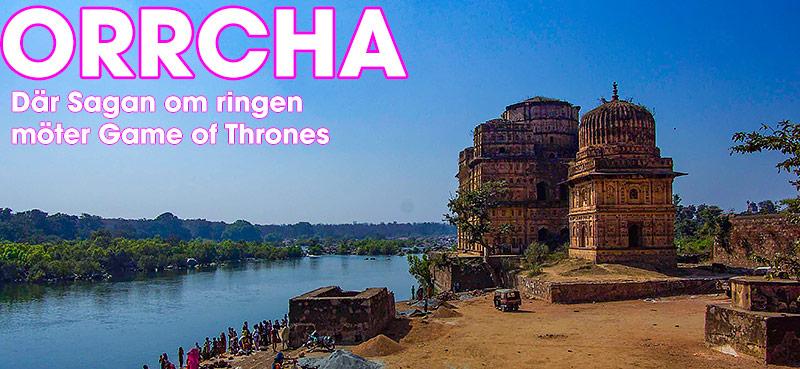 Orccha, Madhya Pradesh, Indien