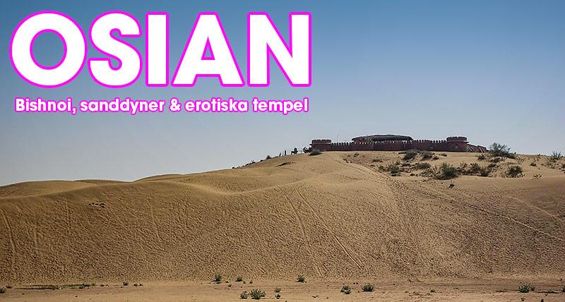 Osian, Rajasthan, Indien