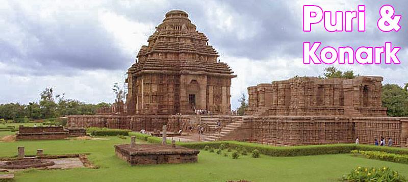 Puri & Konark, Odisha, Indien