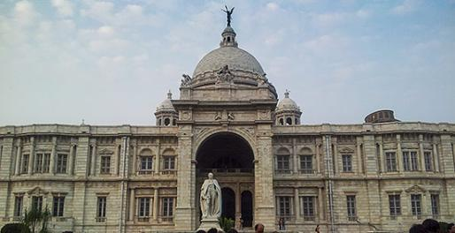 Victoria Memorial med Lord Curzon