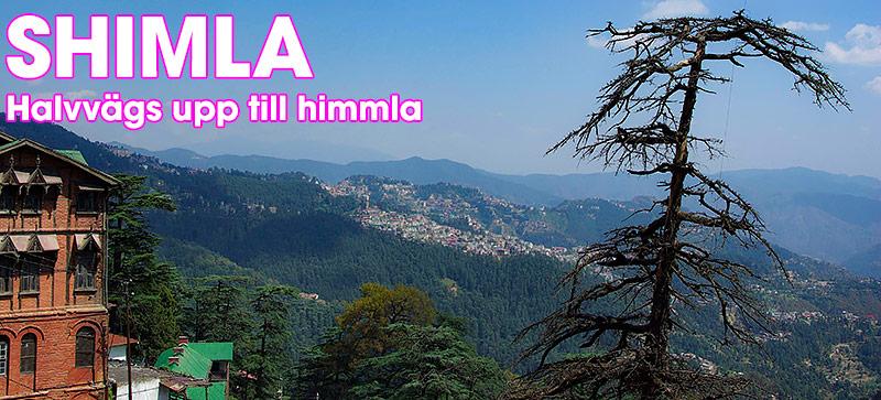 Shimla, huvudstaden i Himachal Pradesh