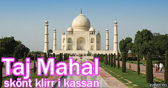 Taj Mahal Ger stora intäkter