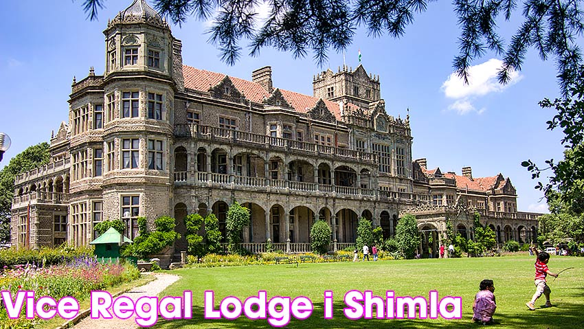 Vice Regal Lodge i Shimla där dokumentet om Indiens delning skrevs under